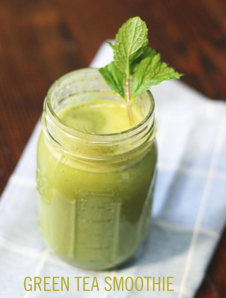 green tea smoothie 2
