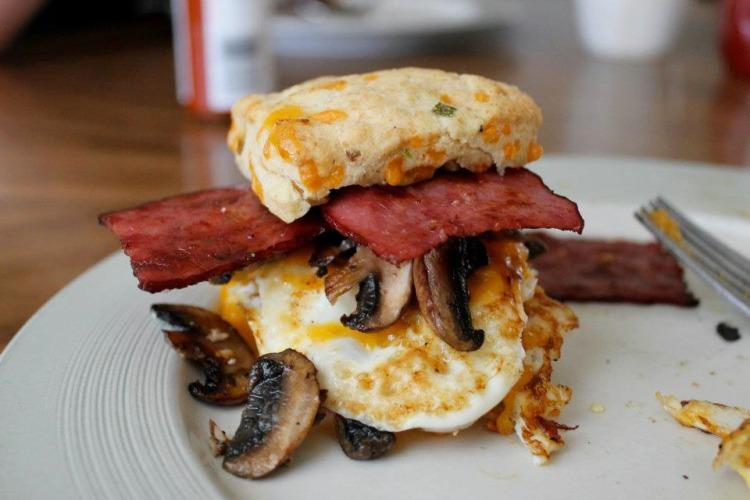 Fried Egg Breakfast Sandwich copy